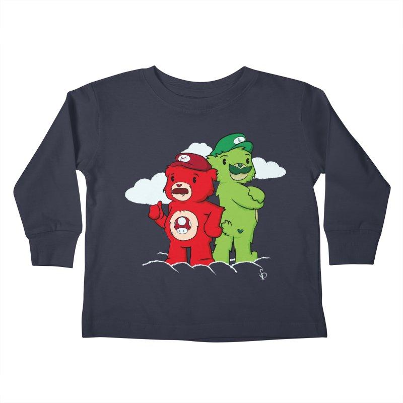 Care Bros Kids Toddler Longsleeve T-Shirt by pepemaracas's Artist Shop