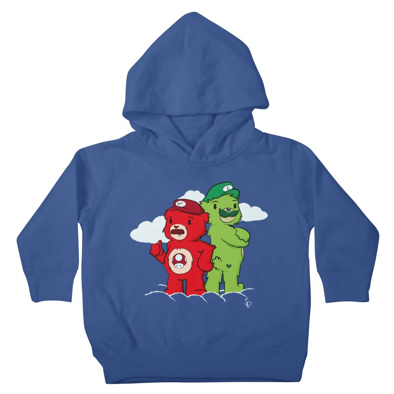 Care Bros Kids Toddler Pullover Hoody by pepemaracas's Artist Shop