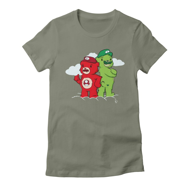 Care Bros Women's Fitted T-Shirt by pepemaracas's Artist Shop