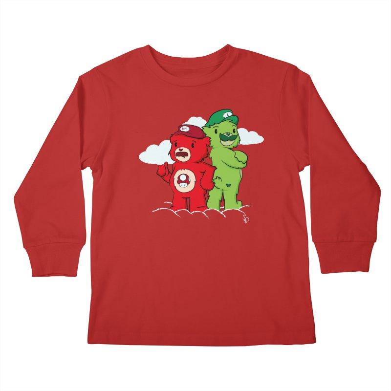 Care Bros Kids Longsleeve T-Shirt by pepemaracas's Artist Shop