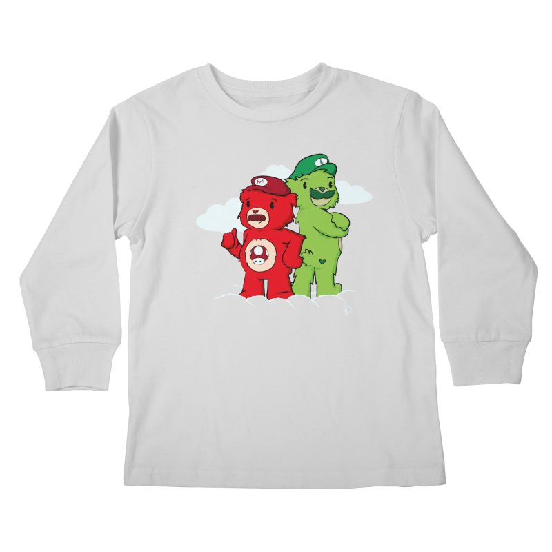Care Bros Kids Longsleeve T-Shirt by pepemaracas's Artist Shop