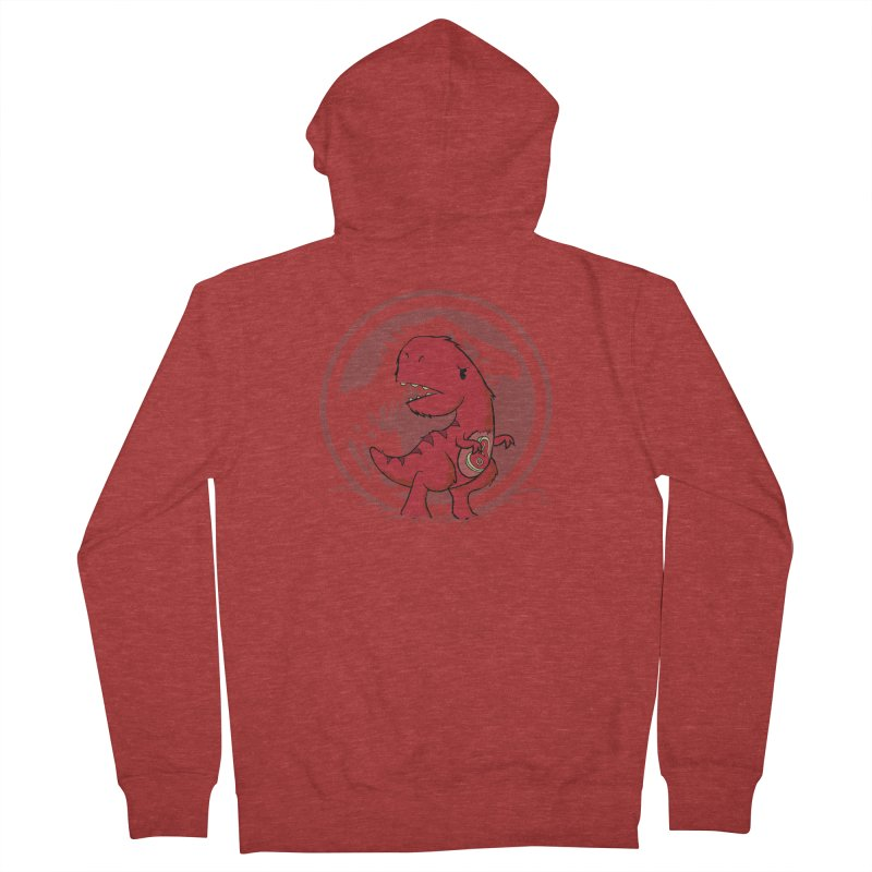 C-Rex Men's Zip-Up Hoody by pepemaracas's Artist Shop