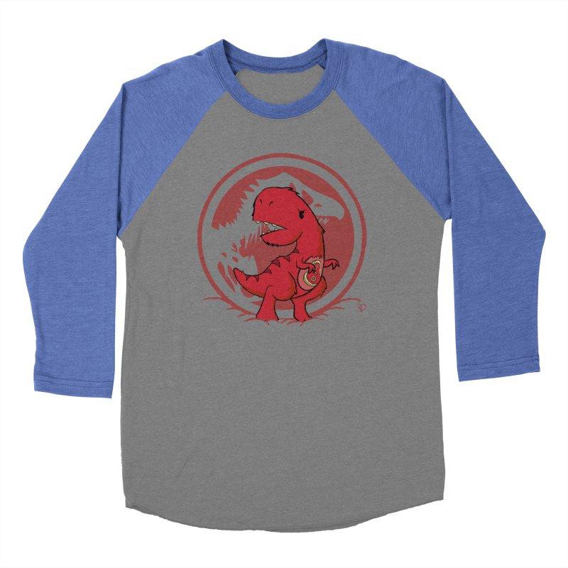 C-Rex Women's Baseball Triblend T-Shirt by pepemaracas's Artist Shop