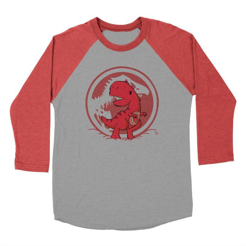 C-Rex Men's Baseball Triblend T-Shirt by pepemaracas's Artist Shop