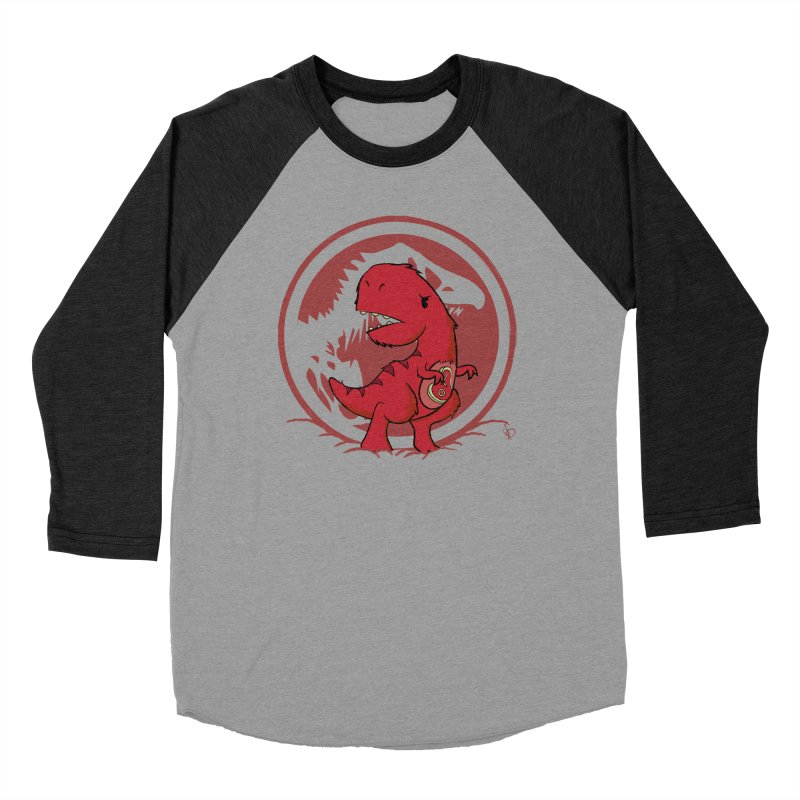 C-Rex Men's Baseball Triblend T-Shirt by pepemaracas's Artist Shop