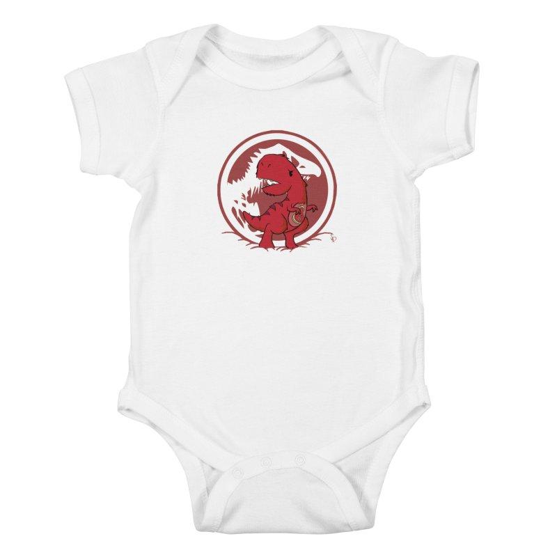 C-Rex Kids Baby Bodysuit by pepemaracas's Artist Shop
