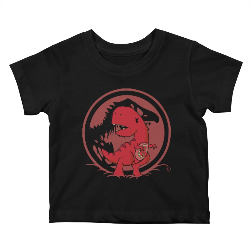 C-Rex Kids Baby T-Shirt by pepemaracas's Artist Shop