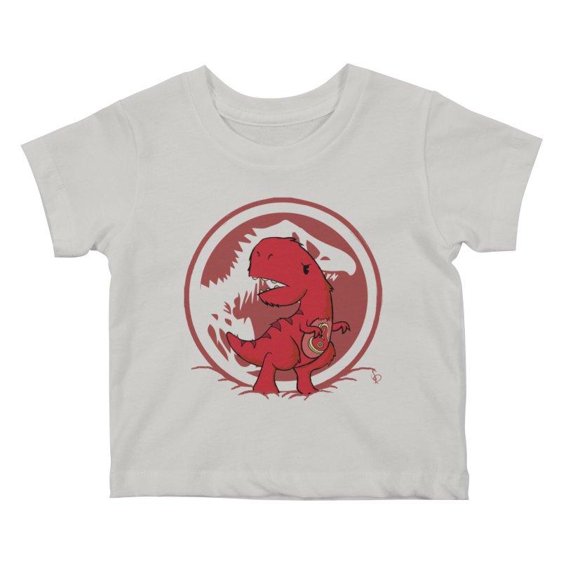 C-Rex Kids Baby T-Shirt by pepemaracas's Artist Shop