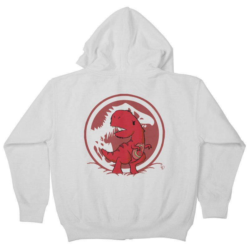 C-Rex Kids Zip-Up Hoody by pepemaracas's Artist Shop