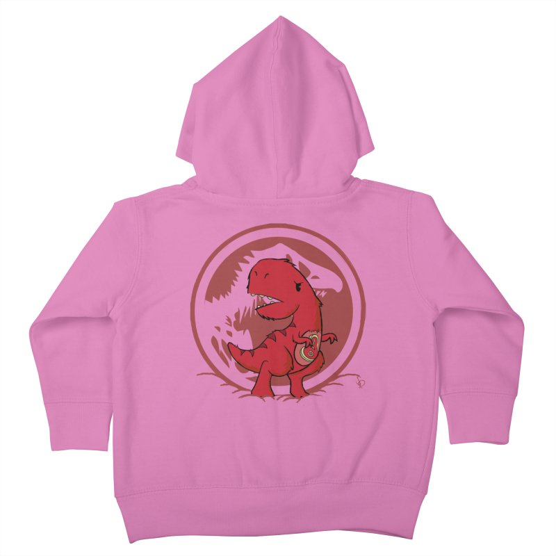 C-Rex Kids Toddler Zip-Up Hoody by pepemaracas's Artist Shop