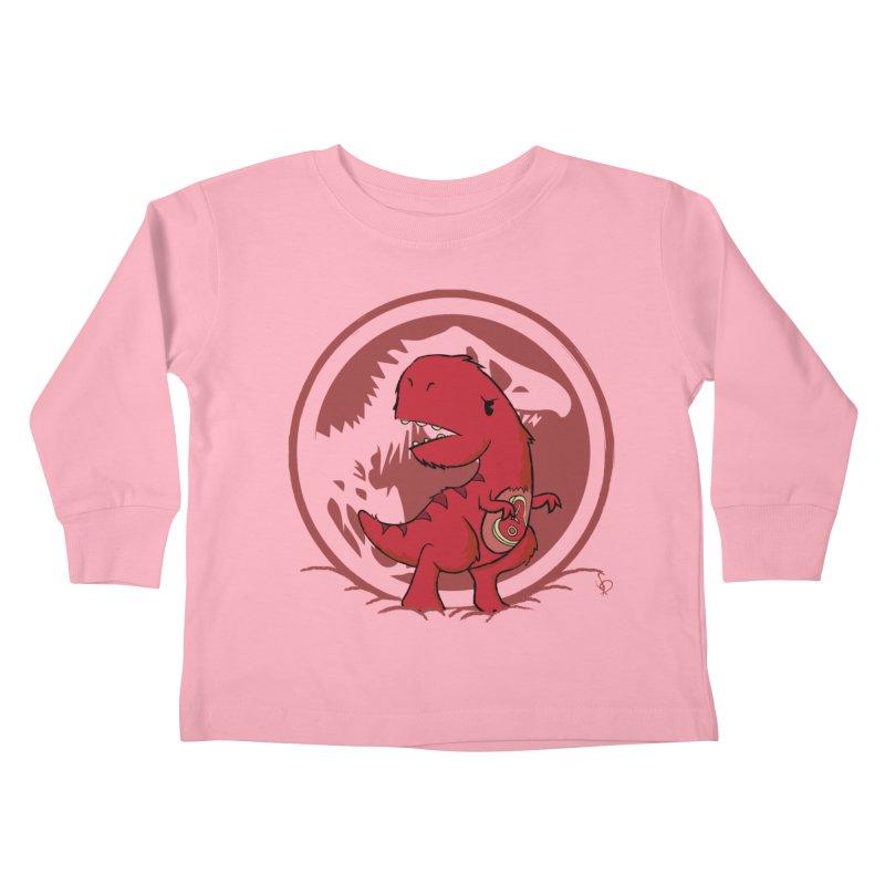 C-Rex Kids Toddler Longsleeve T-Shirt by pepemaracas's Artist Shop