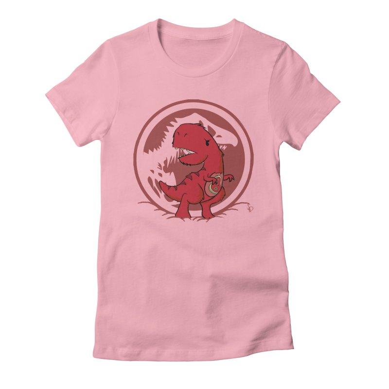 C-Rex Women's Fitted T-Shirt by pepemaracas's Artist Shop