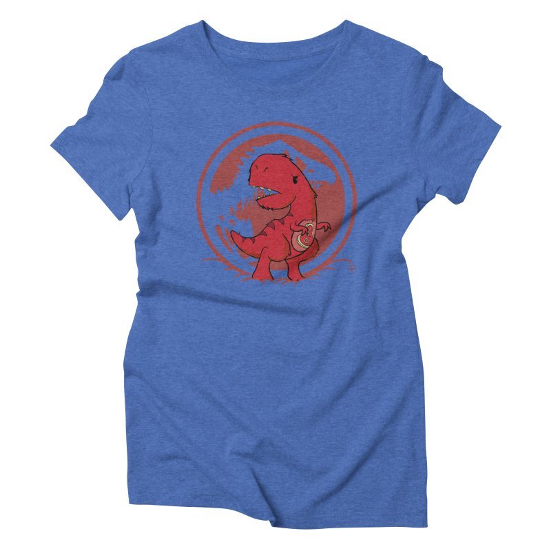 C-Rex Women's Triblend T-Shirt by pepemaracas's Artist Shop