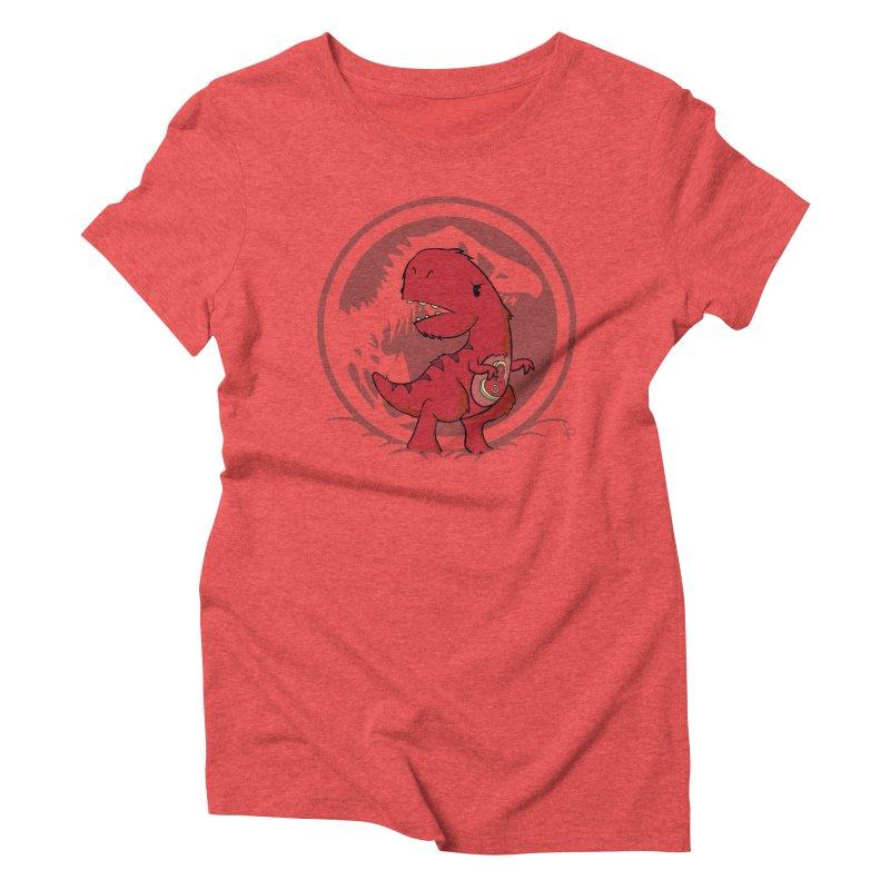 C-Rex Women's Triblend T-shirt by pepemaracas's Artist Shop