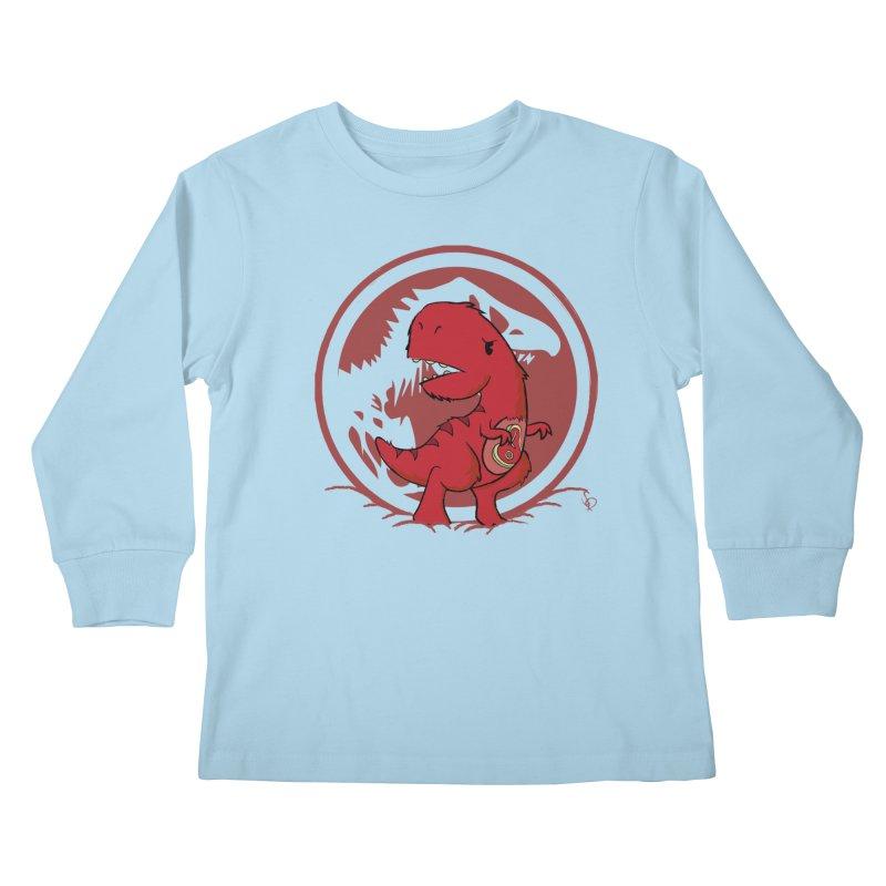 C-Rex Kids Longsleeve T-Shirt by pepemaracas's Artist Shop