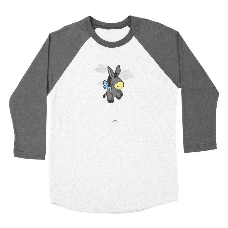 Flying Burrito Women's Baseball Triblend T-Shirt by pepemaracas's Artist Shop