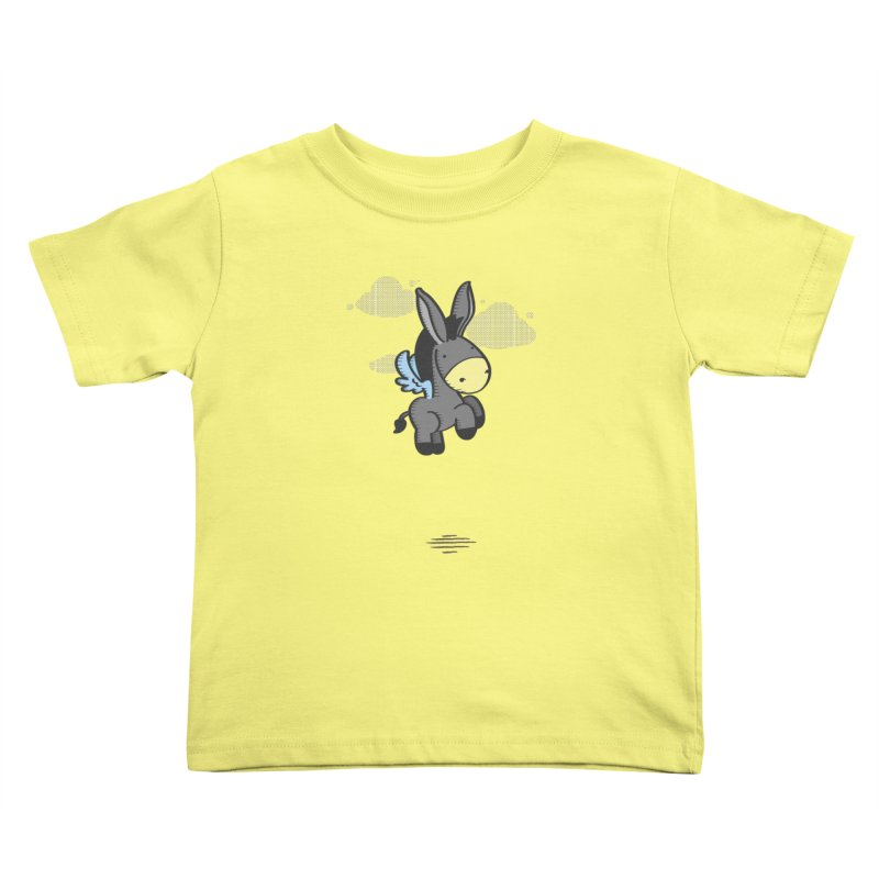Flying Burrito Kids Toddler T-Shirt by pepemaracas's Artist Shop