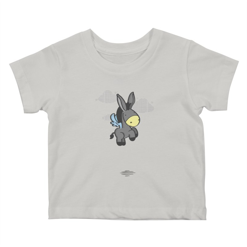Flying Burrito Kids Baby T-Shirt by pepemaracas's Artist Shop
