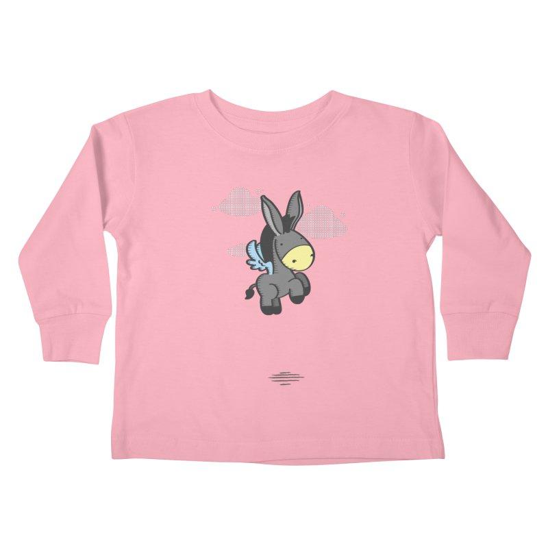 Flying Burrito Kids Toddler Longsleeve T-Shirt by pepemaracas's Artist Shop