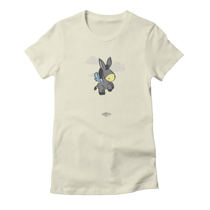 Flying Burrito Women's Fitted T-Shirt by pepemaracas's Artist Shop