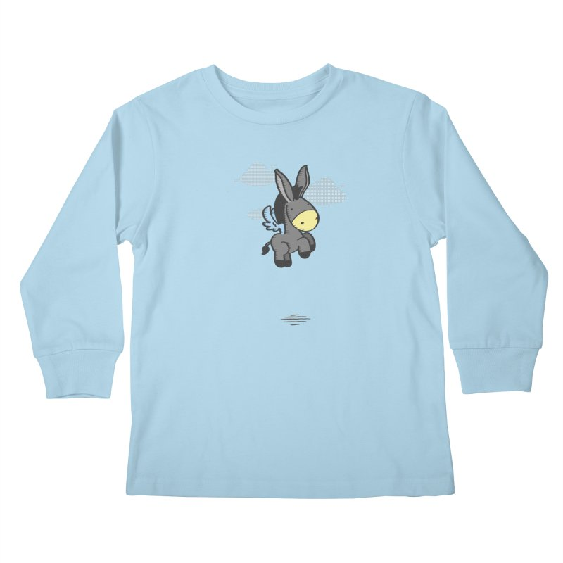 Flying Burrito Kids Longsleeve T-Shirt by pepemaracas's Artist Shop