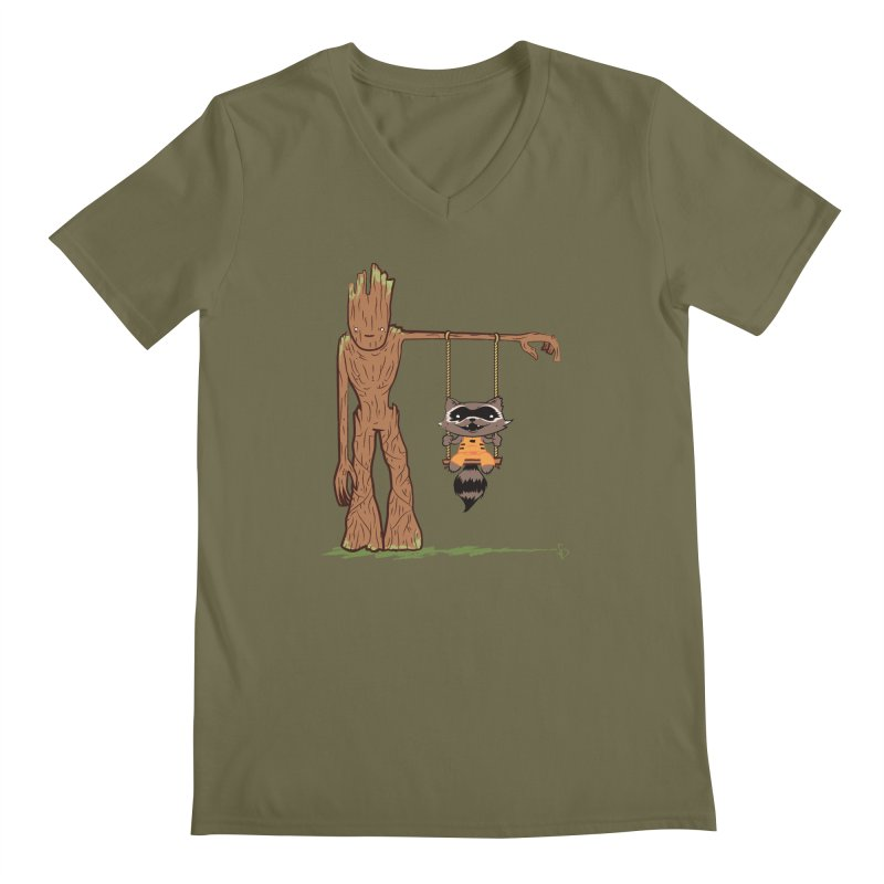 Come Swing With Me Men's V-Neck by pepemaracas's Artist Shop