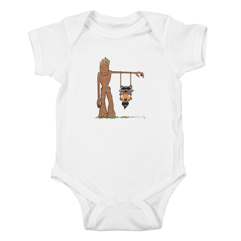 Come Swing With Me Kids Baby Bodysuit by pepemaracas's Artist Shop
