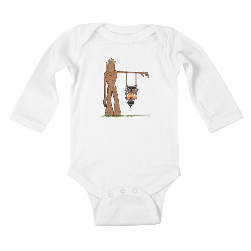 Come Swing With Me Kids Baby Longsleeve Bodysuit by pepemaracas's Artist Shop