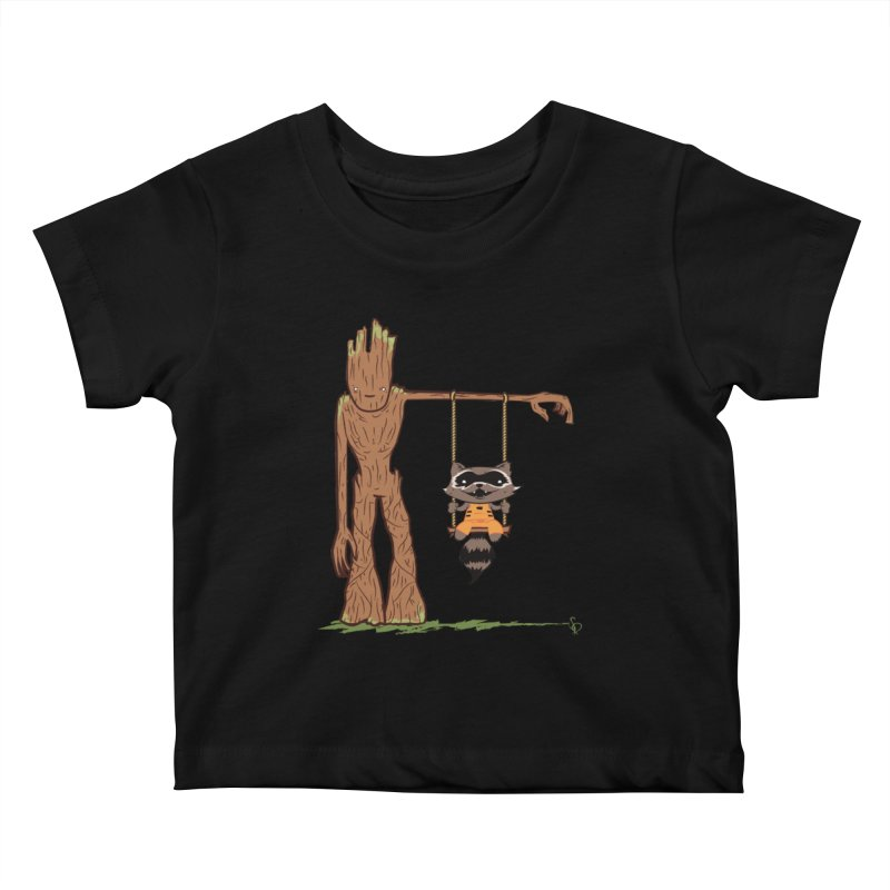 Come Swing With Me Kids Baby T-Shirt by pepemaracas's Artist Shop