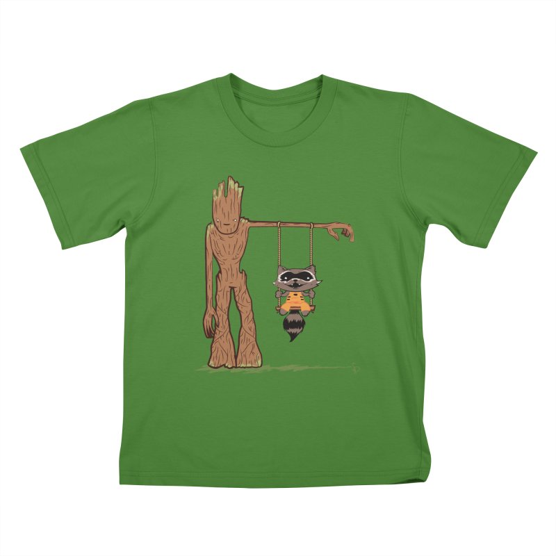 Come Swing With Me Kids T-shirt by pepemaracas's Artist Shop