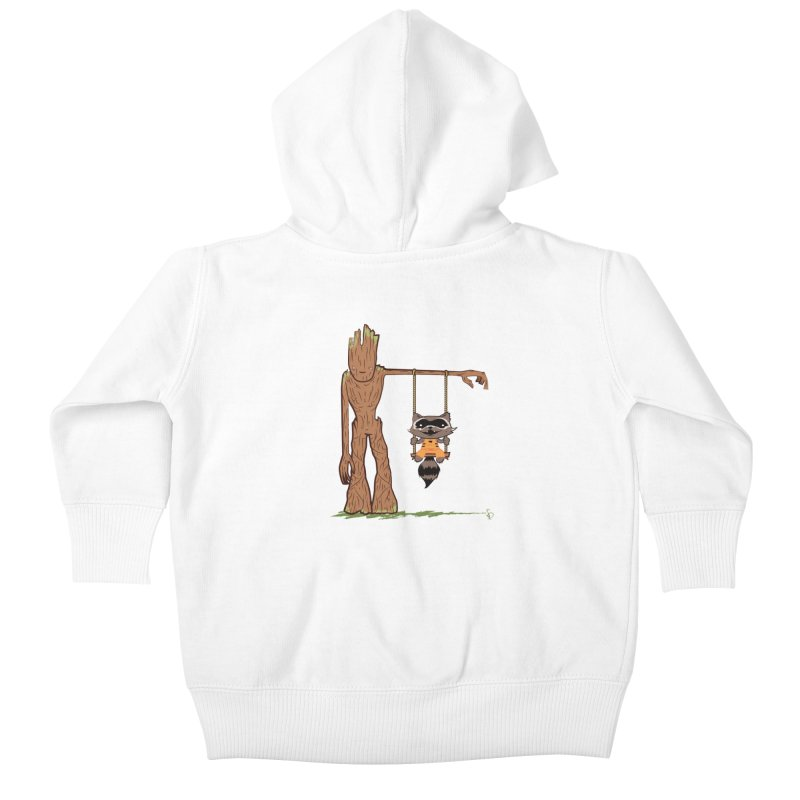 Come Swing With Me Kids Baby Zip-Up Hoody by pepemaracas's Artist Shop
