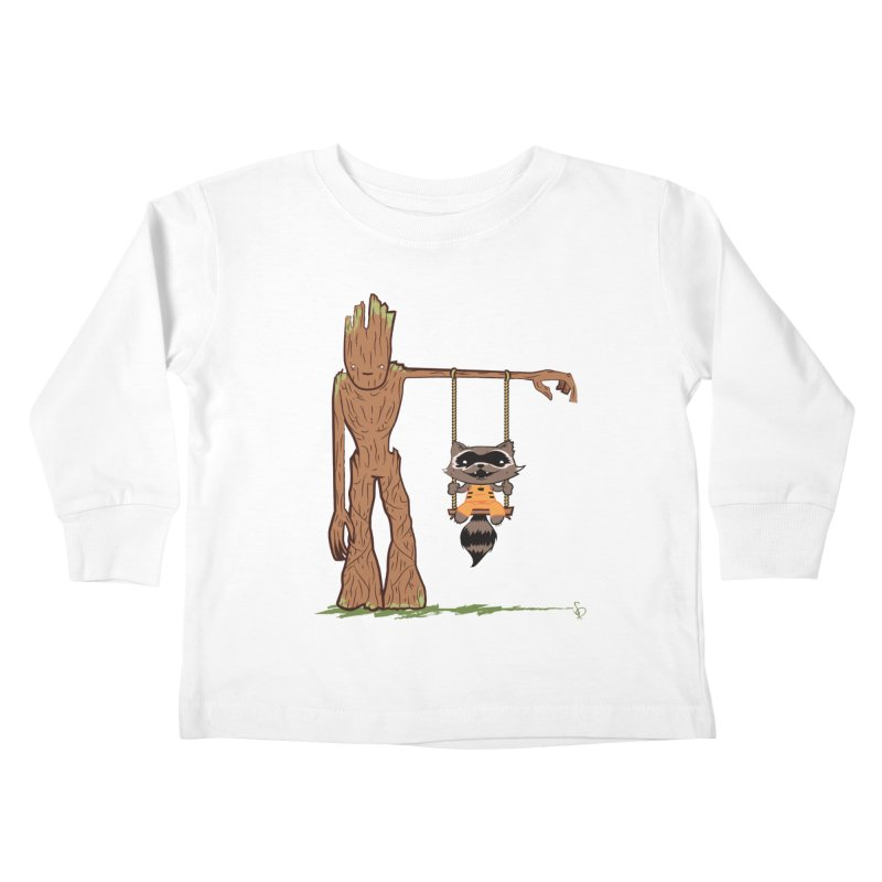 Come Swing With Me Kids Toddler Longsleeve T-Shirt by pepemaracas's Artist Shop