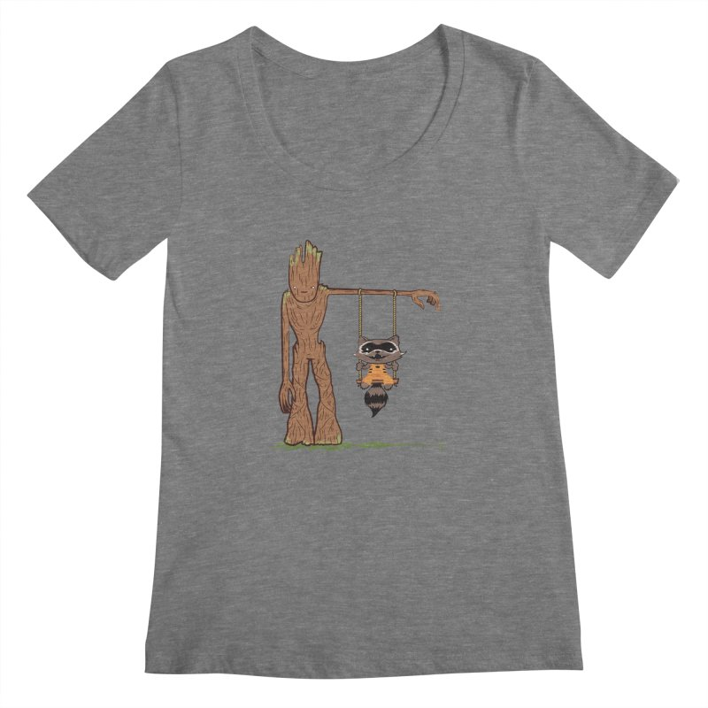 Come Swing With Me Women's Scoopneck by pepemaracas's Artist Shop