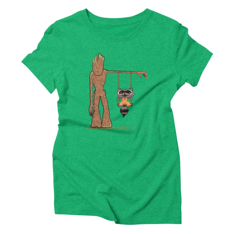 Come Swing With Me Women's Triblend T-shirt by pepemaracas's Artist Shop