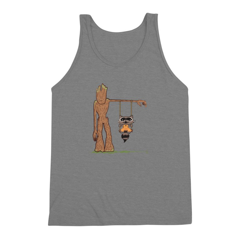 Come Swing With Me Men's Triblend Tank by pepemaracas's Artist Shop