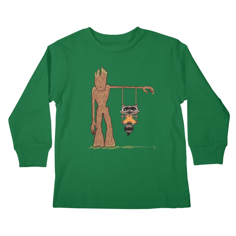 Come Swing With Me Kids Longsleeve T-Shirt by pepemaracas's Artist Shop