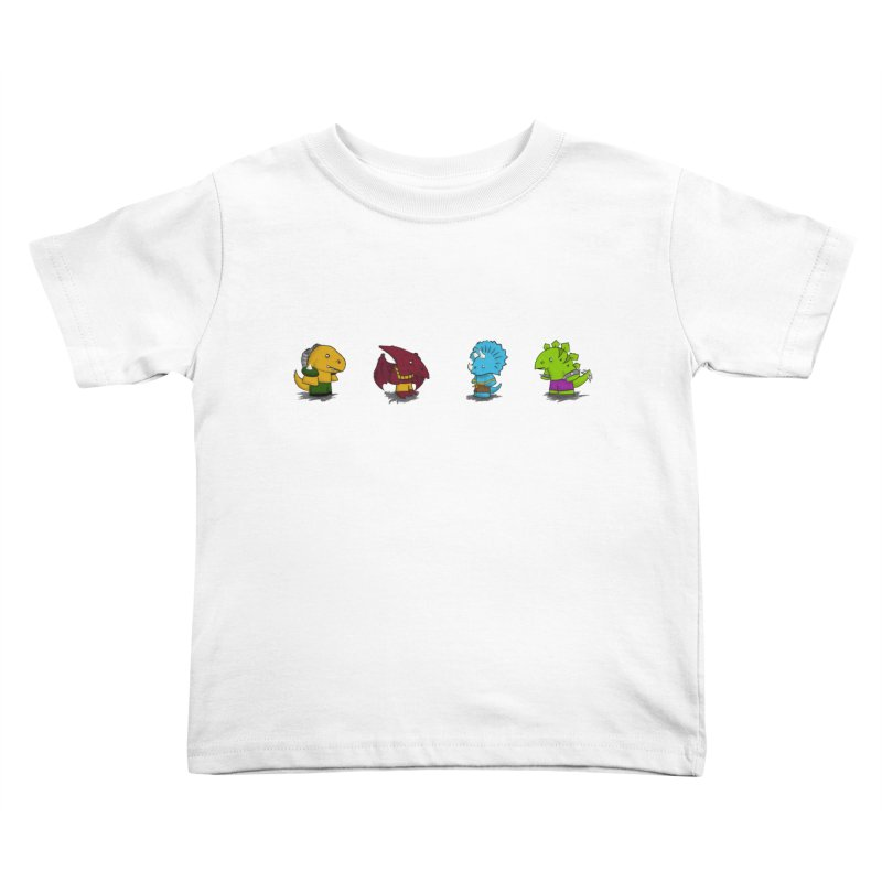 Extreme Dinos Kids Toddler T-Shirt by pepemaracas's Artist Shop