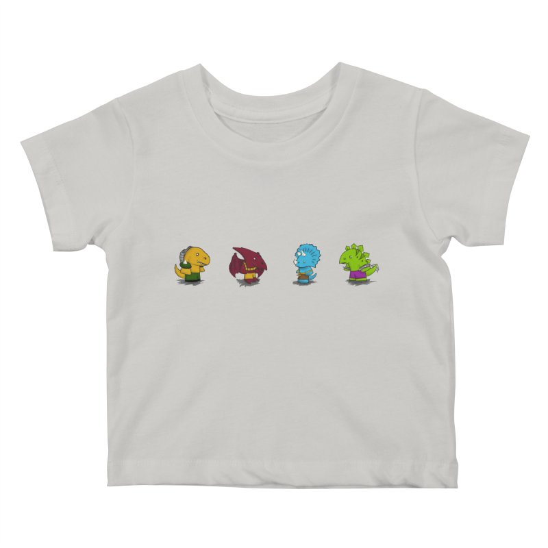 Extreme Dinos Kids Baby T-Shirt by pepemaracas's Artist Shop