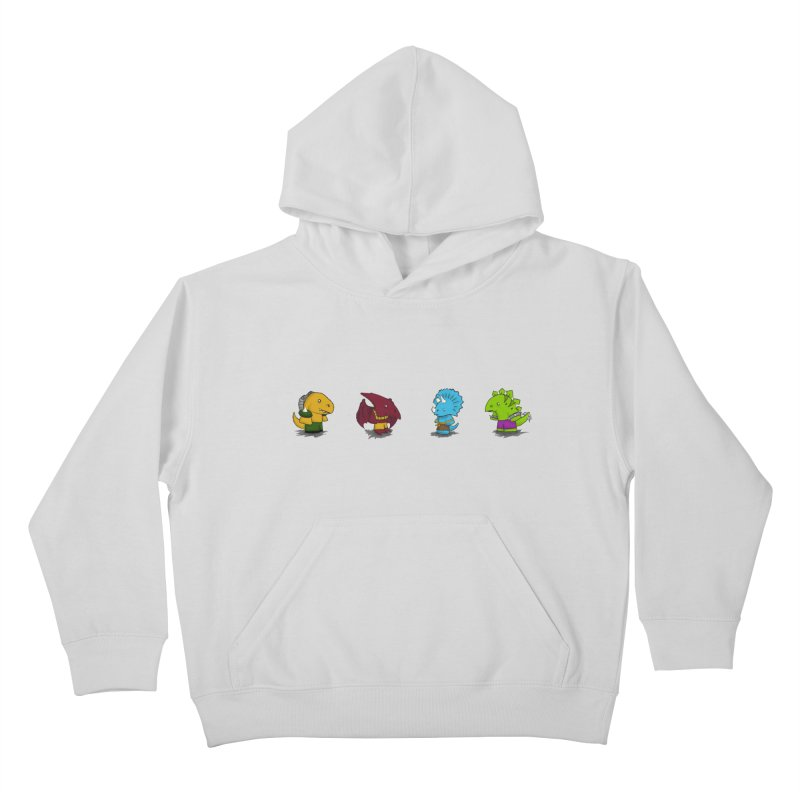 Extreme Dinos Kids Pullover Hoody by pepemaracas's Artist Shop