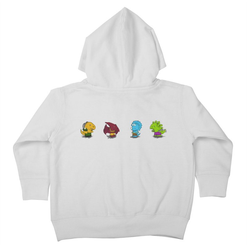 Extreme Dinos Kids Toddler Zip-Up Hoody by pepemaracas's Artist Shop
