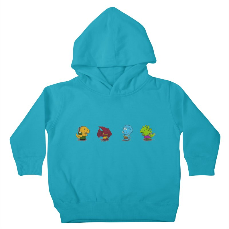Extreme Dinos Kids Toddler Pullover Hoody by pepemaracas's Artist Shop