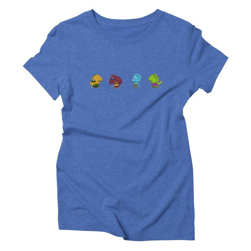 Extreme Dinos Women's Triblend T-shirt by pepemaracas's Artist Shop