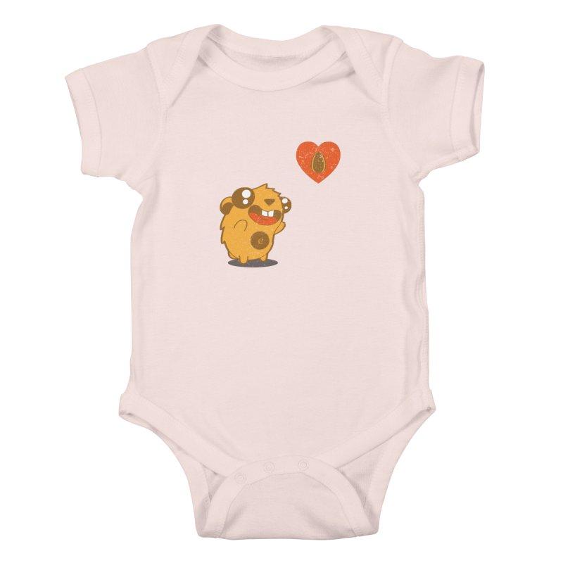 You Gotta Love Seeds Kids Baby Bodysuit by pepemaracas's Artist Shop