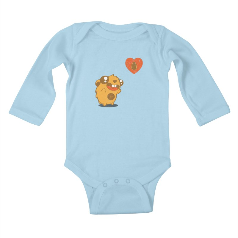You Gotta Love Seeds Kids Baby Longsleeve Bodysuit by pepemaracas's Artist Shop