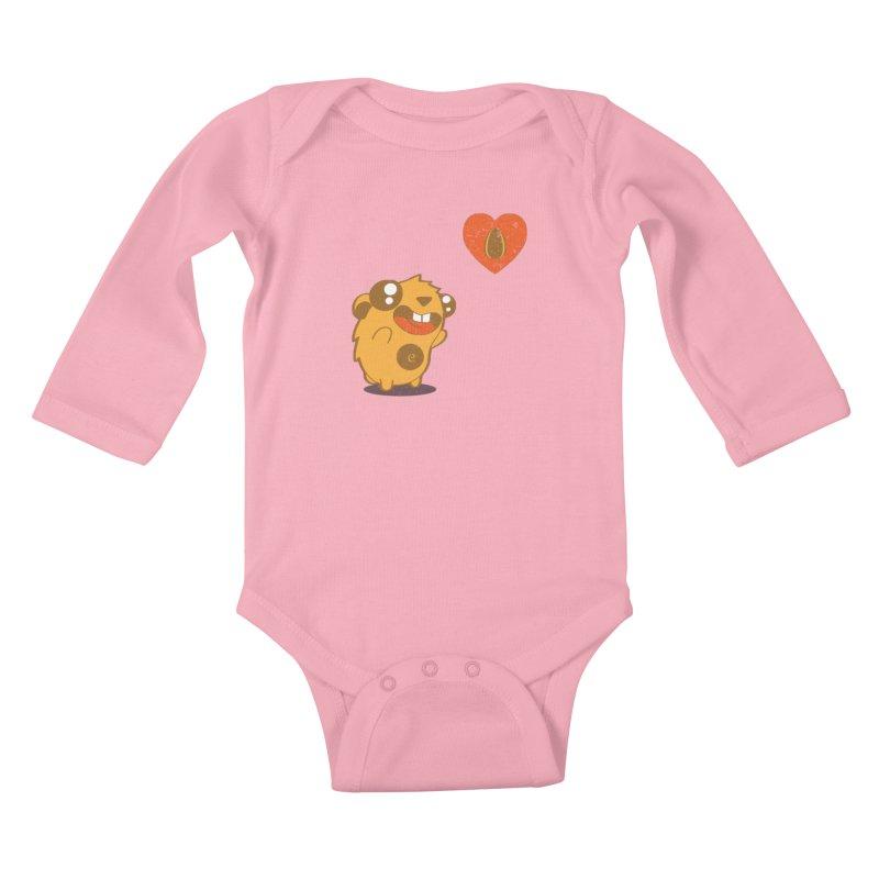 You Gotta Love Seeds Kids Baby Longsleeve Bodysuit by pepemaracas's Artist Shop