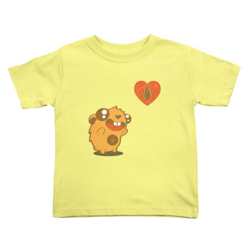 You Gotta Love Seeds Kids Toddler T-Shirt by pepemaracas's Artist Shop
