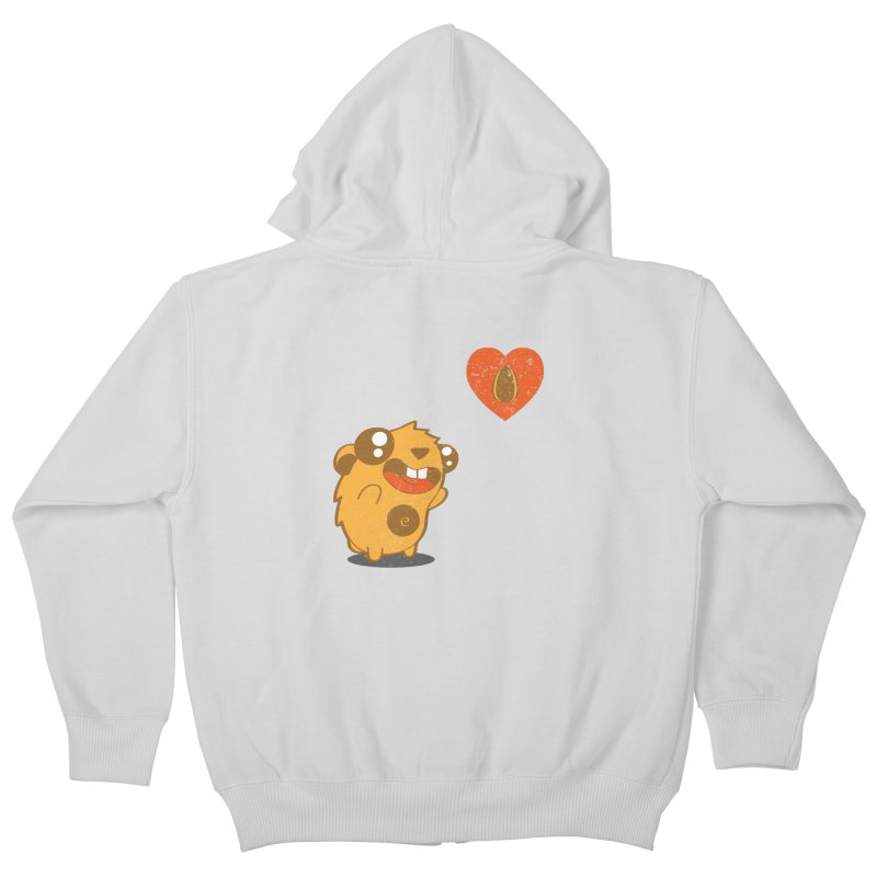You Gotta Love Seeds Kids Zip-Up Hoody by pepemaracas's Artist Shop