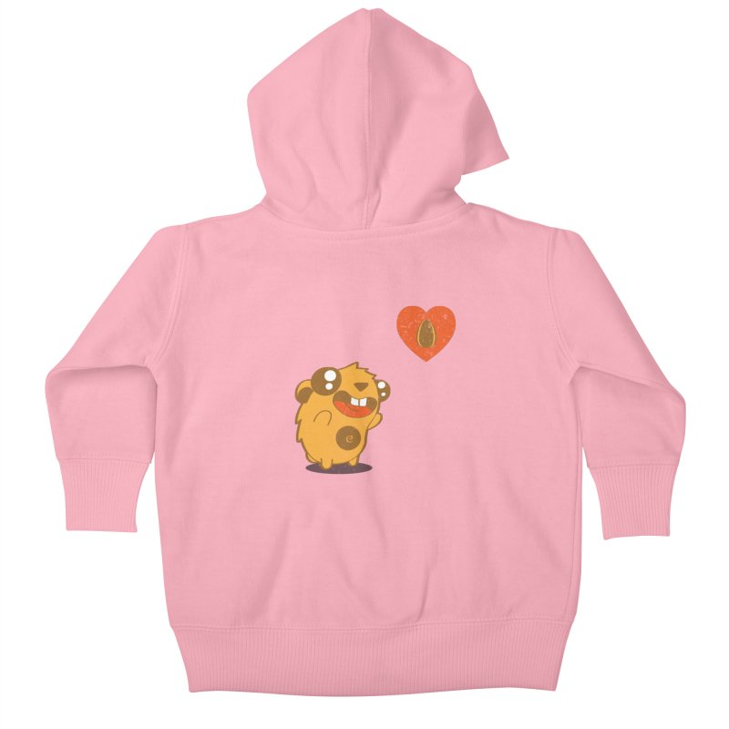 You Gotta Love Seeds Kids Baby Zip-Up Hoody by pepemaracas's Artist Shop