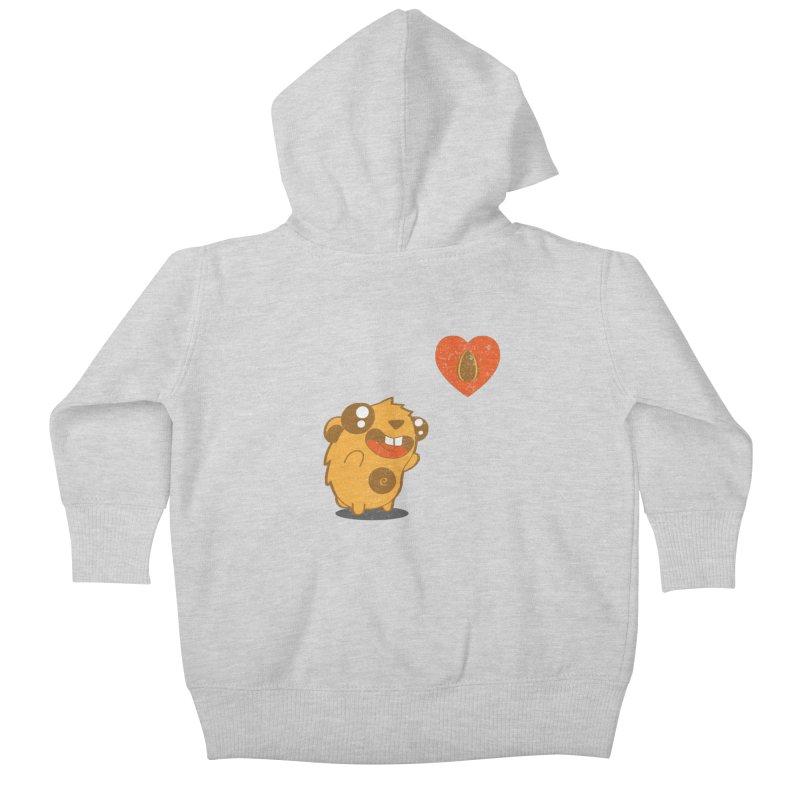 You Gotta Love Seeds Kids Baby Zip-Up Hoody by pepemaracas's Artist Shop