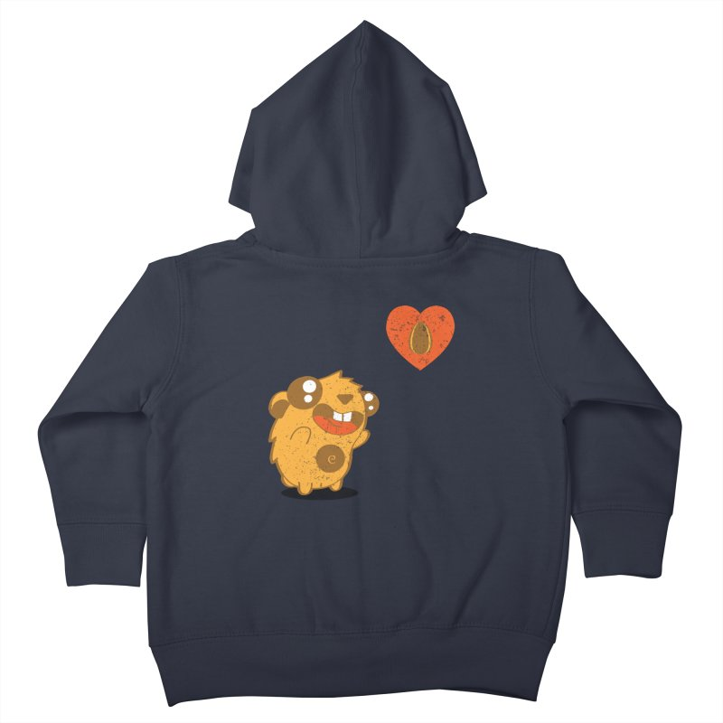 You Gotta Love Seeds Kids Toddler Zip-Up Hoody by pepemaracas's Artist Shop